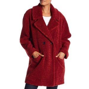Lucky Brand Teddy Bear Faux Fur Ruby Jacket Sz XL